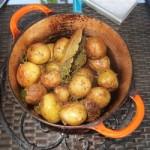 Pommes de terre en cocotte