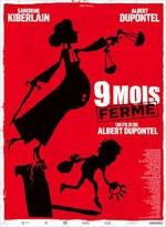 Affiche film Neuf mois ferme de Dupontel